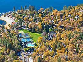 Aerial View of Lake Arrowhead