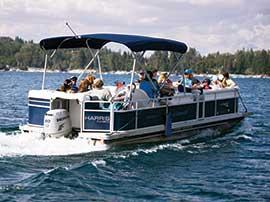 Boat Ride on Lake Arrowhead