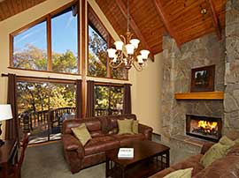 Briar Creek Chalet — Living Room