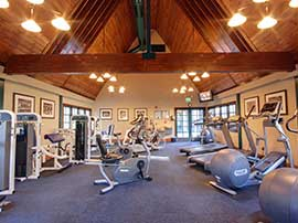 Fitness Center — Open 24 hours