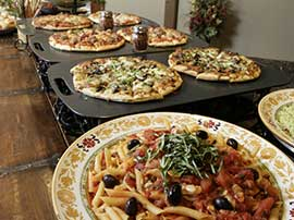 Lunch Buffet — Pizza & Pasta