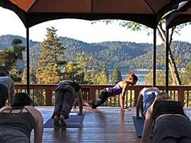 Yoga on the Zen Deck