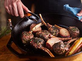 Herb-crusted Lamb Chops